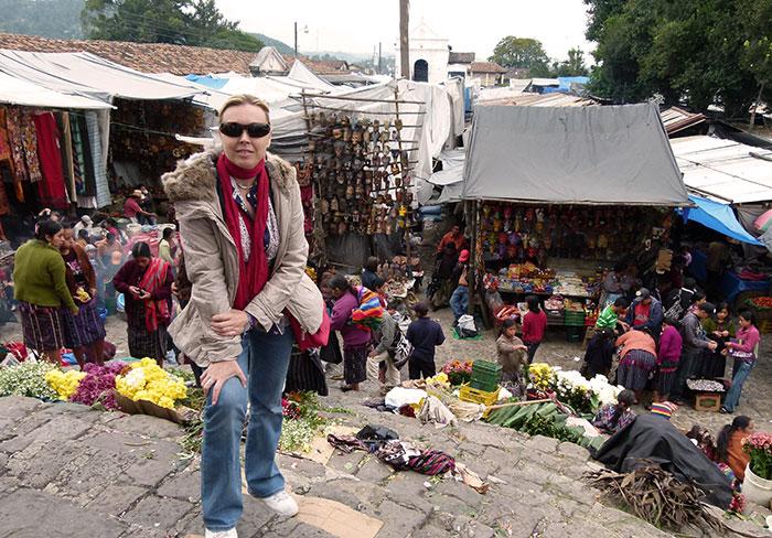 Guatemala mercado de Chichicastenango