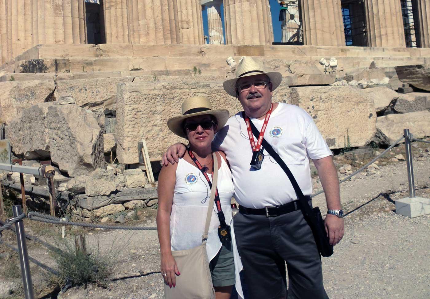 Acropolis Atenas Crucero Islas Griegas
