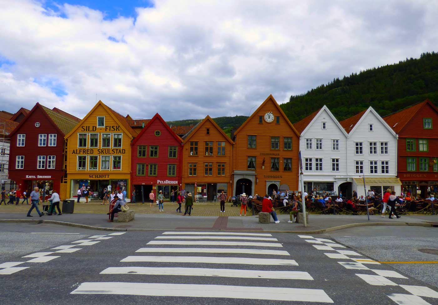Noruega y sus calles