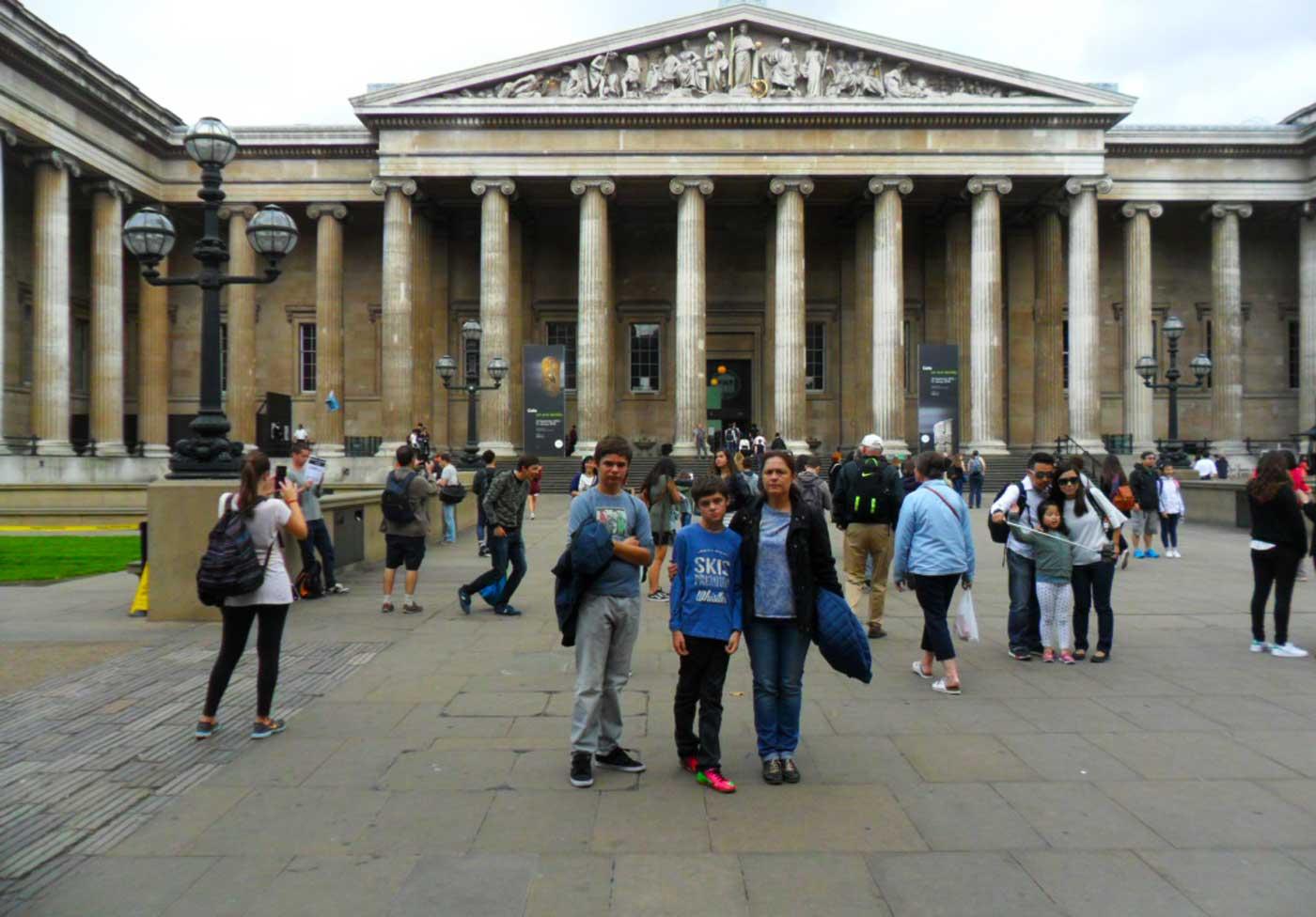 British Museum Londres Museo Británico