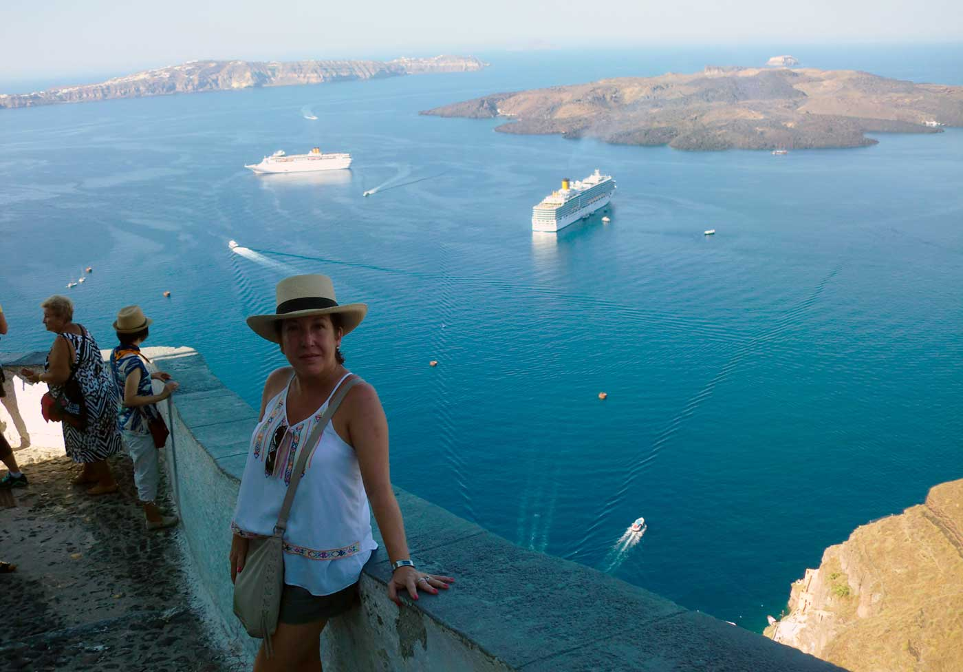 Santorini Crucero Islas Griegas