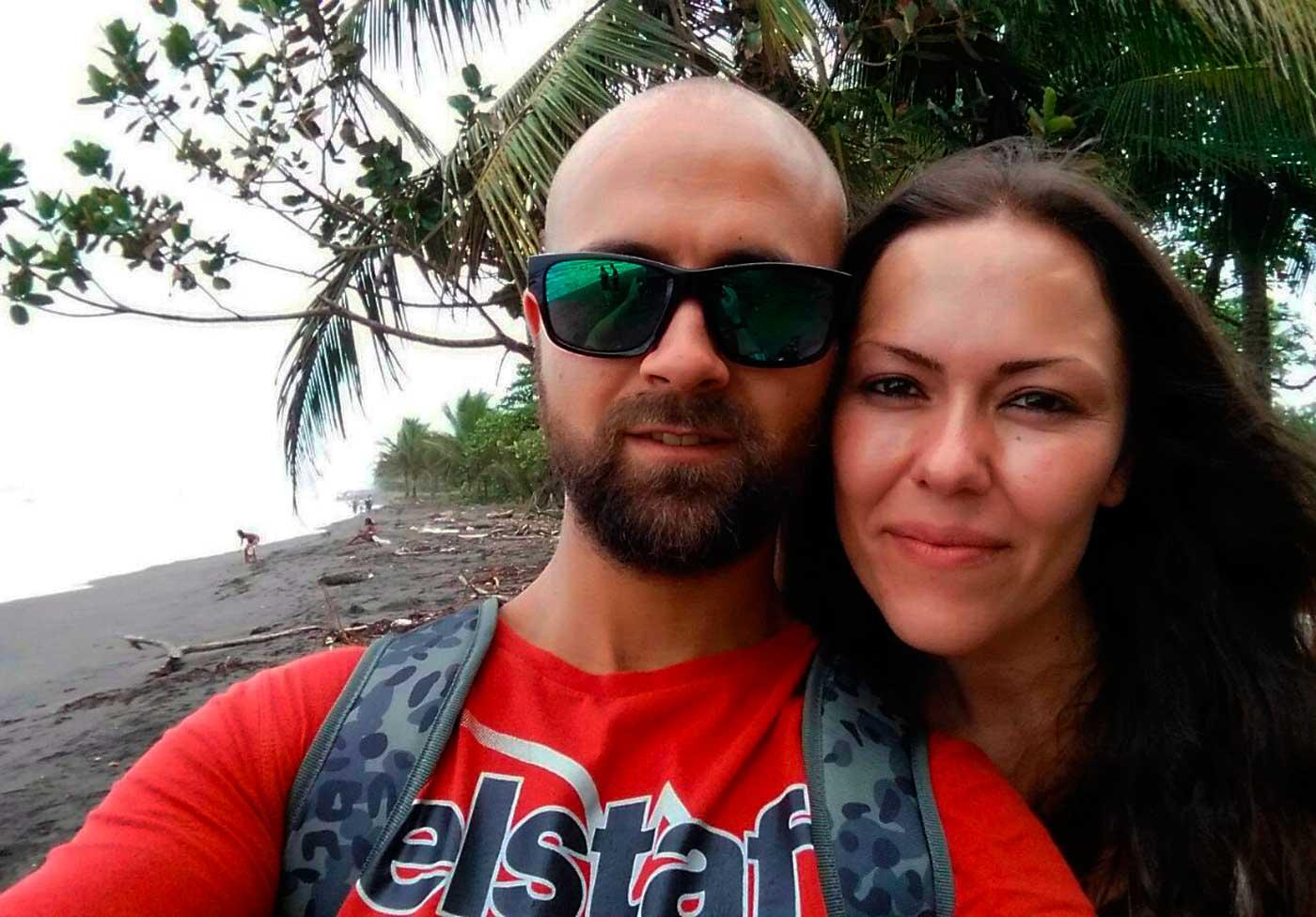 Juanjo y Belén Costa Rica Pura Vida