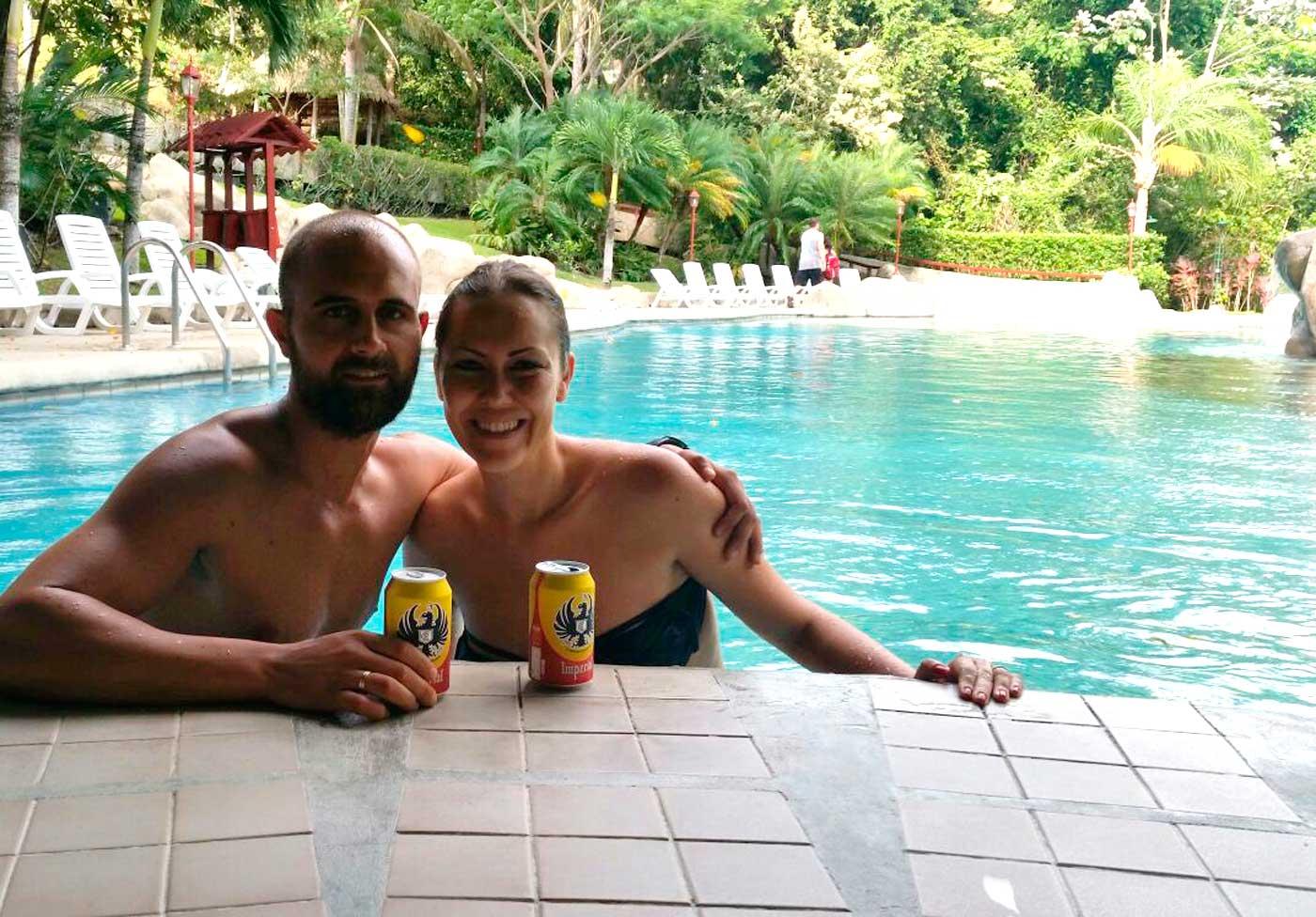 Disfrutando en Costa Rica Juanjo Alvarez