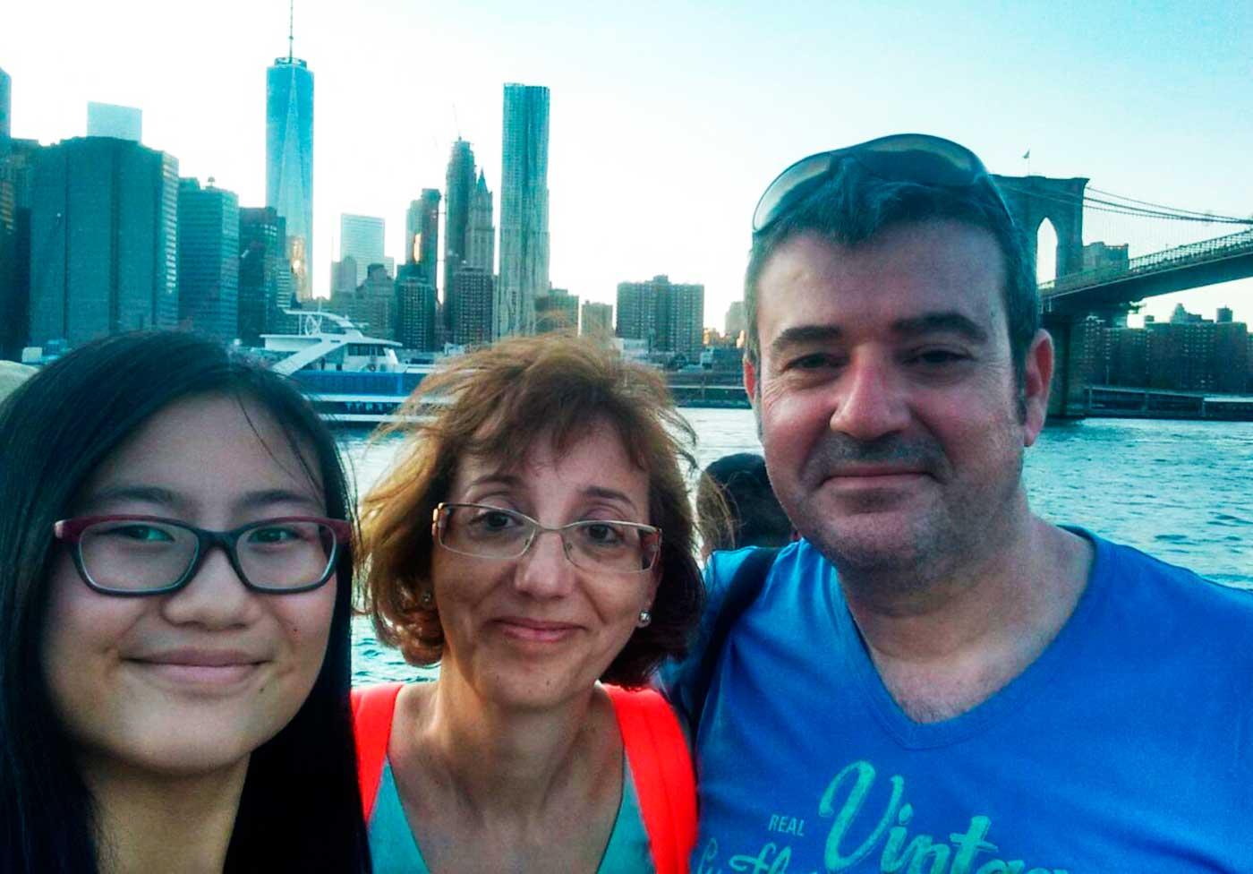The Big Apple en familia