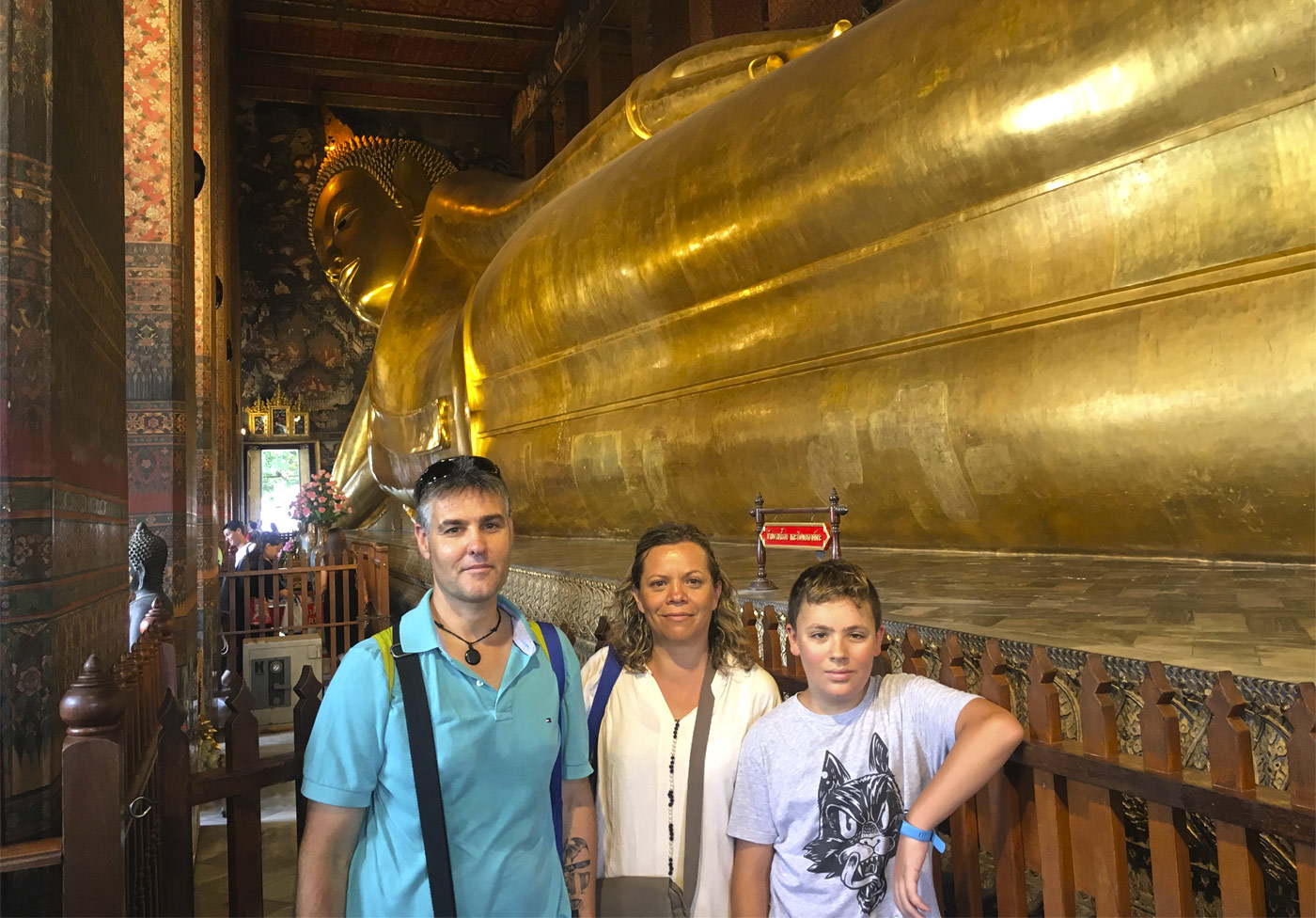 Thailandia, buda reclinado, Tailandia