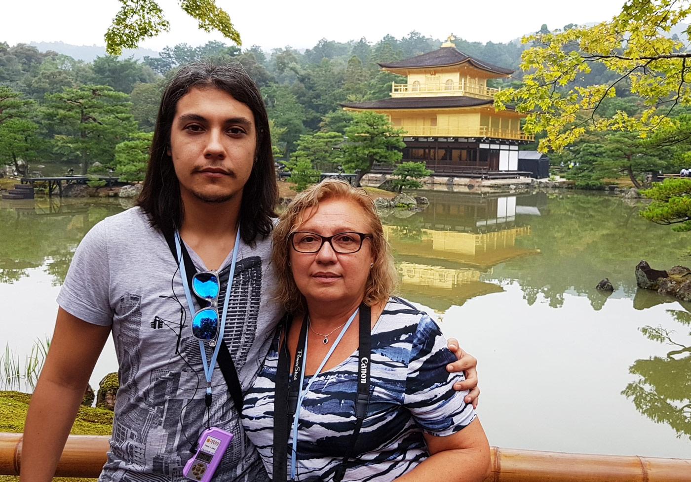 Kinkaku-ji Japón templo de oro