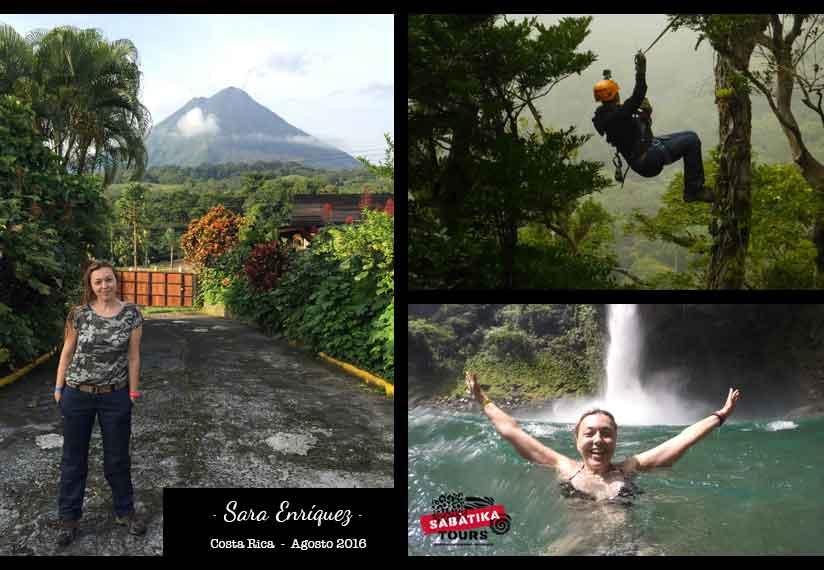 Costa Rica, Volcan Arenal, Monterverde, Cascada de la Fortuna