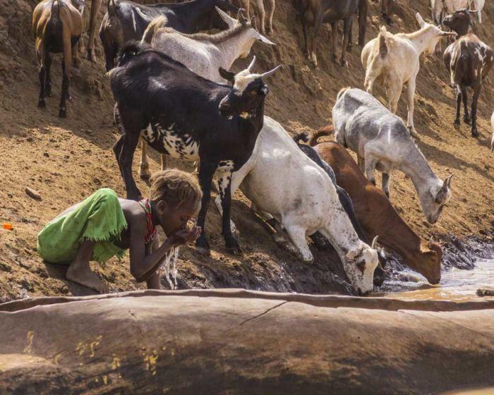 Ethiopia, Omo River, Omorate