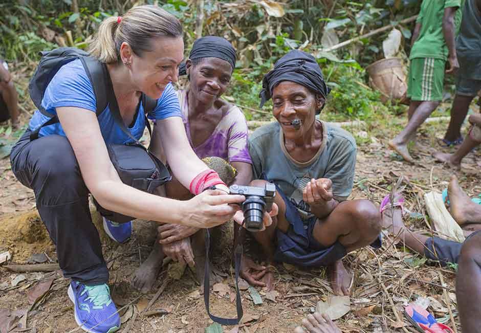 Gabon, pigmeos babongo, tribu babongo